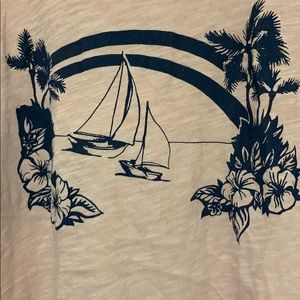 Madewell Graphic Tank Top. Size M